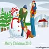 Merry Christmas 2010 A Free Puzzles Game