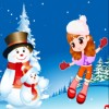 Dance with Snowman A Free Dress-Up Game