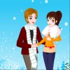 Pure winter love A Free Dress-Up Game
