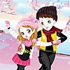 Skating Cute Couple Dress Up A Free Dress-Up Game