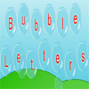 Bubble Letters A Free Education Game
