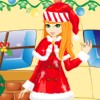 Christmas Gift Girl A Free Dress-Up Game
