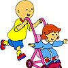 Caillou coloring A Free Customize Game