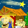Nativity Scene Coloring Game A Free Other Game