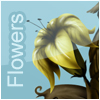 Flowers on line A Free Action Game