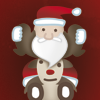 Santa Claus gift rush A Free Action Game