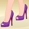 Louboutin  heels are the hottest shoes you can wear! All the sexiest celebrities wear them. Help this girl pick the hottest high heels to wear with a beautiful outfit. Make sure that everyone has all their eyes on her!