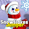 Catch as many snowflakes as you can in this Christmas arcade!