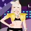 Lady Gaga in Concert A Free Dress-Up Game