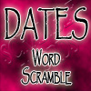 Dates Scrmable Words