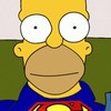 The Simpsons Homer Superman A Free Action Game