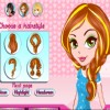 Modish Highlight Hairstyle A Free Dress-Up Game