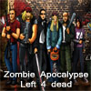 Zombie Apocalypse: Left 4 dead - survival A Free Action Game