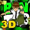 3D Ben10 Sliding Puzzle A Free Dress-Up Game