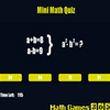 Mini Math Quiz A Free Education Game