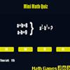 Mini Math Quiz A Free Education Game