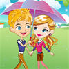 Romantic Raining Love A Free Dress-Up Game