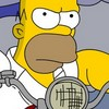 The Simpsons Homer MotoMania A Free Action Game