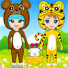 Cute Animal Costume A Free Dress-Up Game