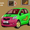 Toyota Yaris Car Coloring A Free Customize Game