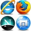 Try to find all the matching pairs of the logos of the web browsers.
