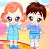Dressup Twin Babys A Free Dress-Up Game