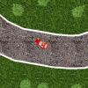 An old-skool top-down racing game.