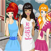 Posy Teens - Rainy Day Fashionista A Free Dress-Up Game