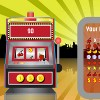 """Einarmiger Bandit is a great slot machine simulator by <a href=""""http://www.flashgames.de"""">Flash Games</a>. Place your bet and pull the arm to start the machine."""