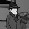 The rainy day is an old style point and click adventure game. You have to help the police to solve a crime as a detective. You have to find the hidden diamonds!