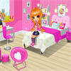 Cutie Trend sweetie Yuki wants to give a great makeover to her  bedroom. Please help her choose wallpaper, floor, furnitures, and  other decorations. Make sure her new bedroom looks cozy and  comfortable! Enjoy!