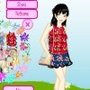 My Flowery Dressup A Free Dress-Up Game
