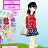 My Flowery Dressup