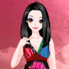 Flower Printed Dressup A Free Dress-Up Game