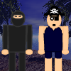 Ninjas Versus Pirates War A Free Action Game