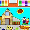 Kids Farm Coloring