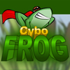 Cybo Frog is a relaxing game with a green frog as the main hero! Your task is to jump with your cybo frog from one floating leaf to another. Use your mouse to set up strength and trajectory and press left mouse button to jump. If you don`t reach next leaf you will lose one life. Can you finish all levels without losing a life?