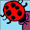 Evil Lady Bug Pong A Free Puzzles Game