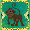 Monkey frame A Free Action Game