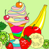Ice-Cream Sundae Coloring Game A Free Customize Game