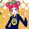 Sue Rap girl fashion dressup game.