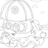 Kid`s coloring: Little Home is free coloring game.