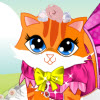 Kitty Cute Dressup A Free Dress-Up Game