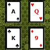 Poker Square Solitaire