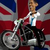 Obama Rider A Free Driving Game