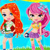 Football Cheerleaders Dressup A Free Dress-Up Game