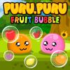 Play this cute puru puru bubble shooter game, with cute pink puru puru :)