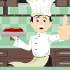 In this cooking game you`re making a meal following the recipe. Cook lasagna following the instructions and store this recipe to make a real lasagna.