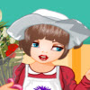 florist girl A Free Dress-Up Game