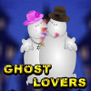 Ghost Lovers Kissing